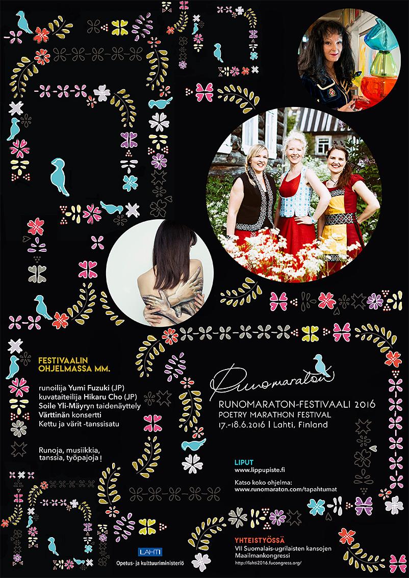 Lahden runomaraton ry | Runomaraton-festivaali 2016