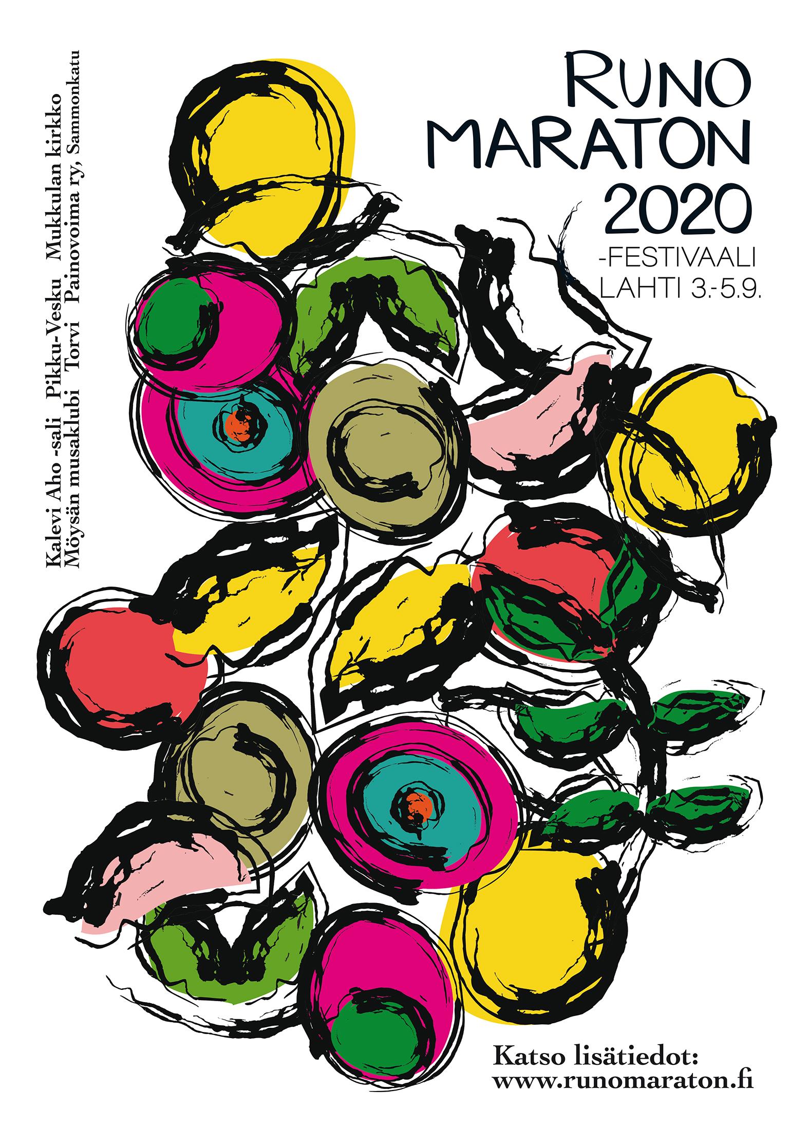 Runomaraton 2020 tapahtumajuliste